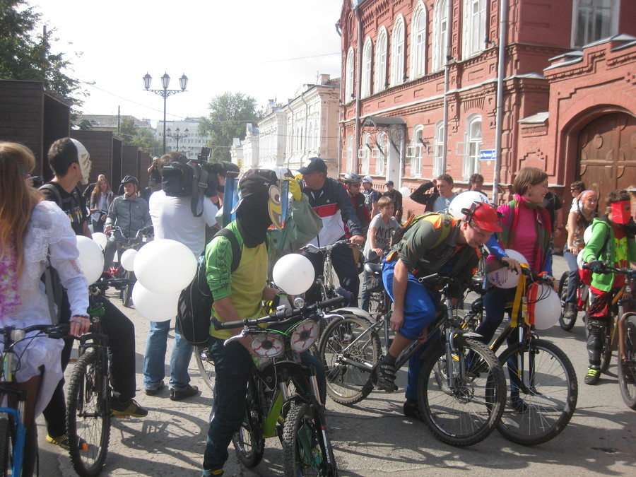 В Перми прошел праздник велосипедистов - фото 29