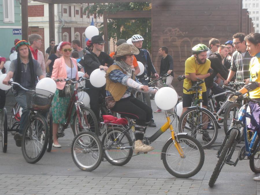 В Перми прошел праздник велосипедистов - фото 12