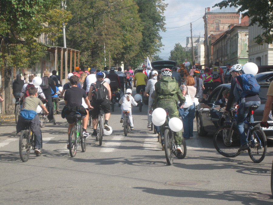 В Перми прошел праздник велосипедистов - фото 35