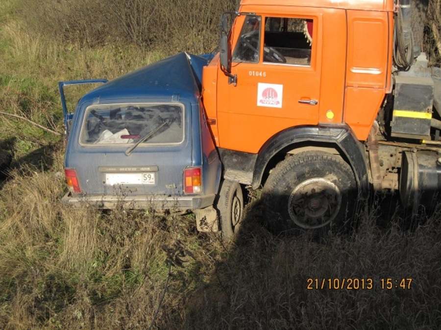 В Чернушке в ДТП погиб 86-летний водитель Нивы