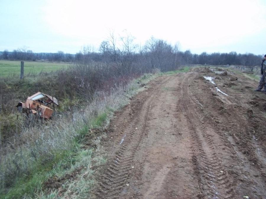 В Пермском крае тракторист превысил безопасную скорость и погиб