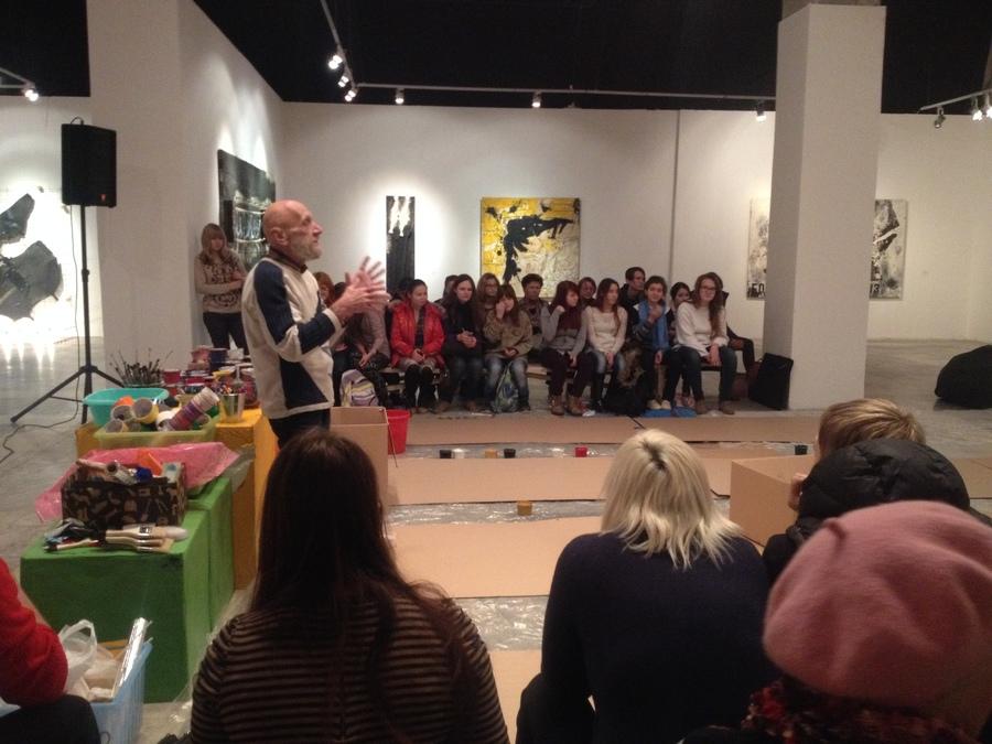 В Перми состоялся мастер-класс художника Юрия Лапшина - фото 1
