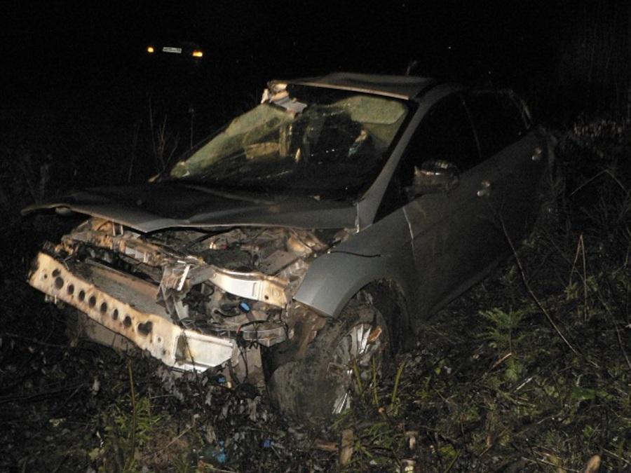 В ДТП в Кудымкарском районе ранены четыре человека - фото 1