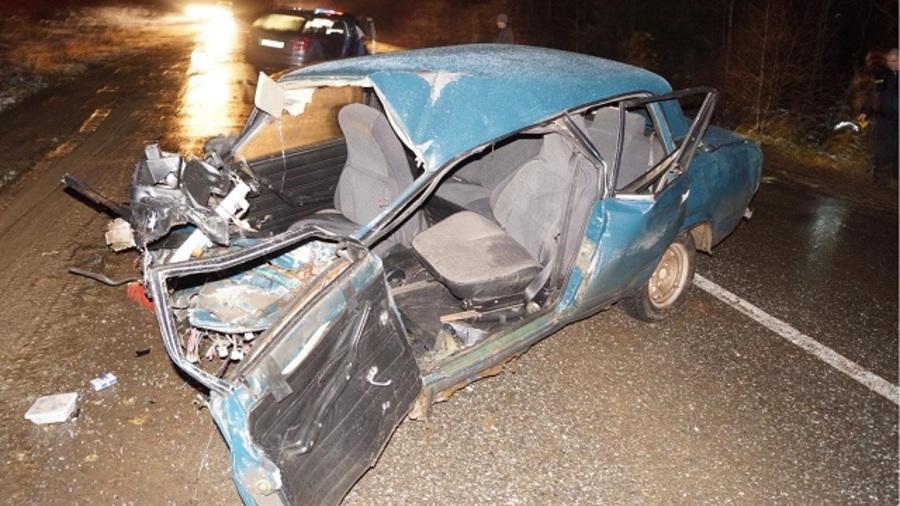 В ДТП в Пермском районе один человек погиб, четверо ранены