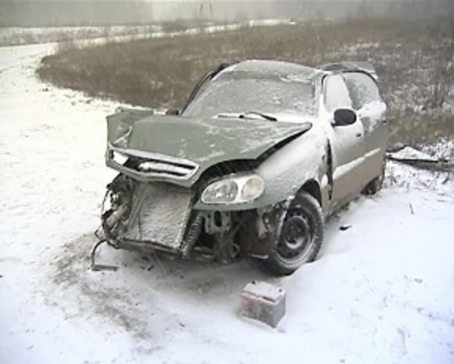 Сегодня с начала снегопада в Перми произошло более сотни автоаварий