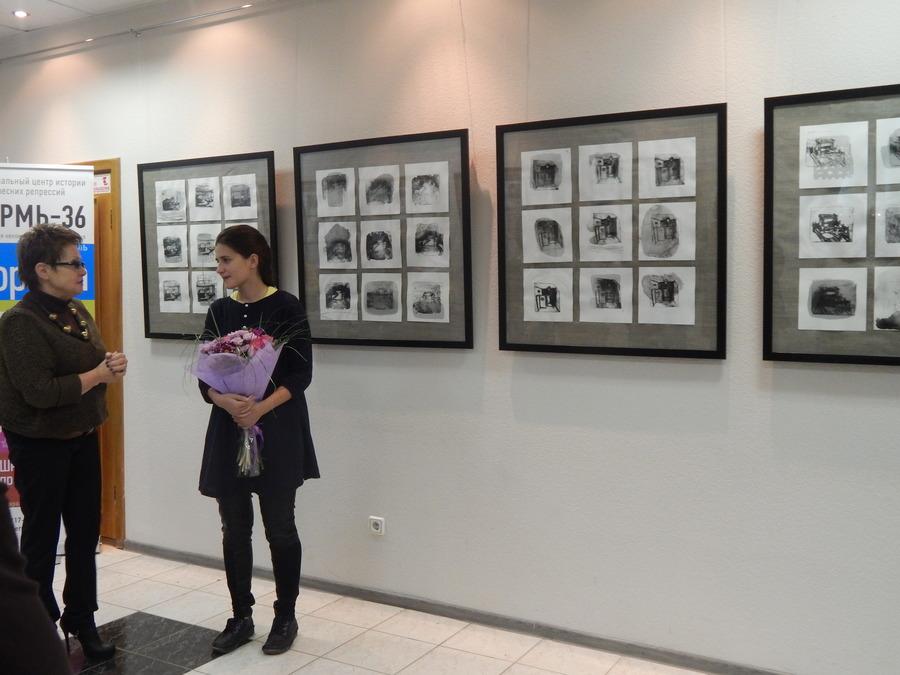 В Перми на «Пилораме» открылась выставка юной художницы