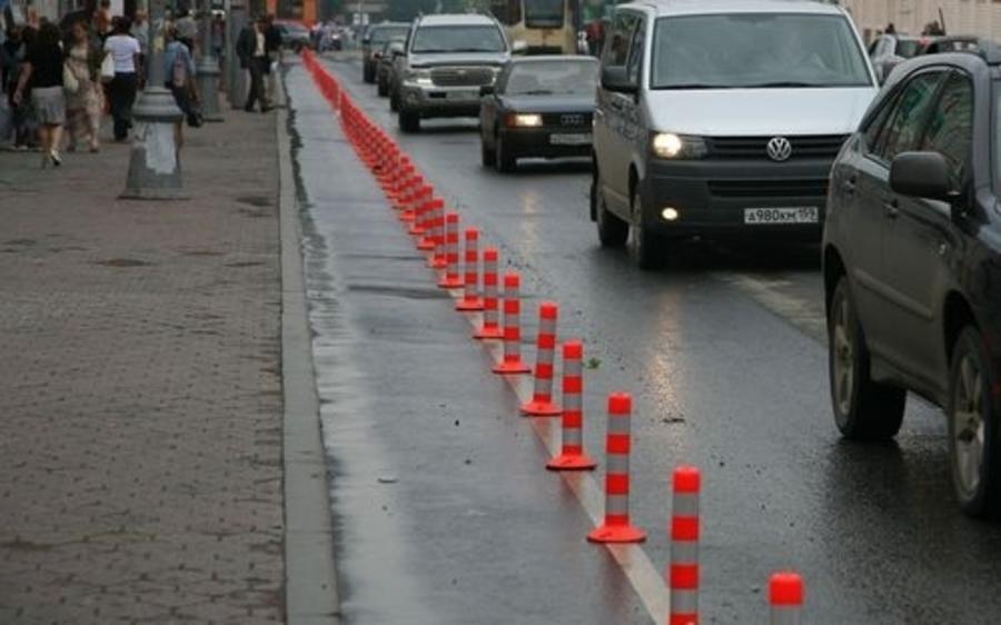 Велосипедные столбики убирают с пермских улиц