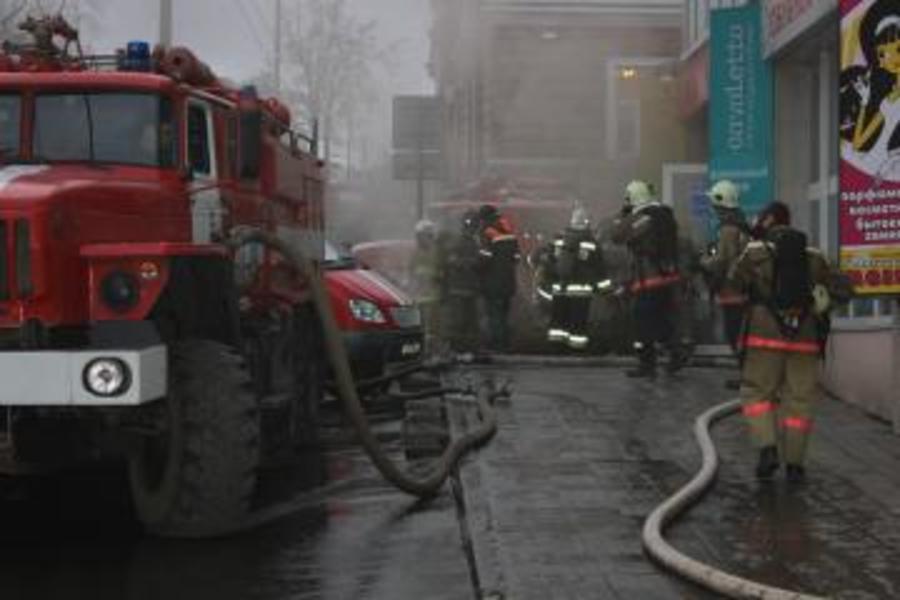 Предварительная причина пожара в пермском ТЦ «Алмаз» установлена - фото 1