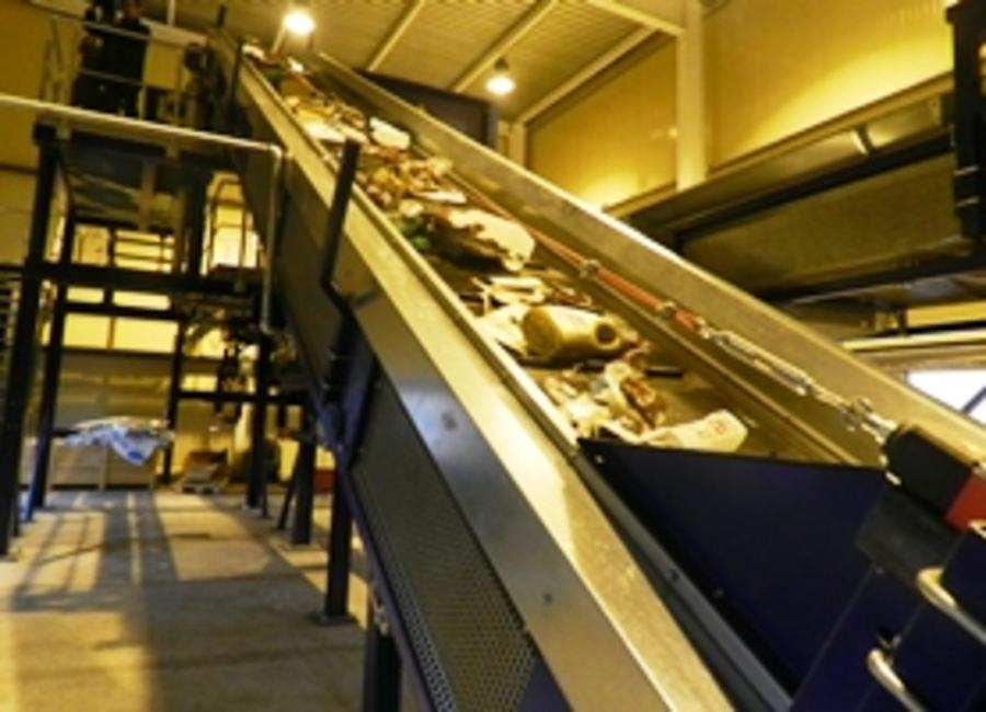 В Перми начал работу комплекс сортировки мусора