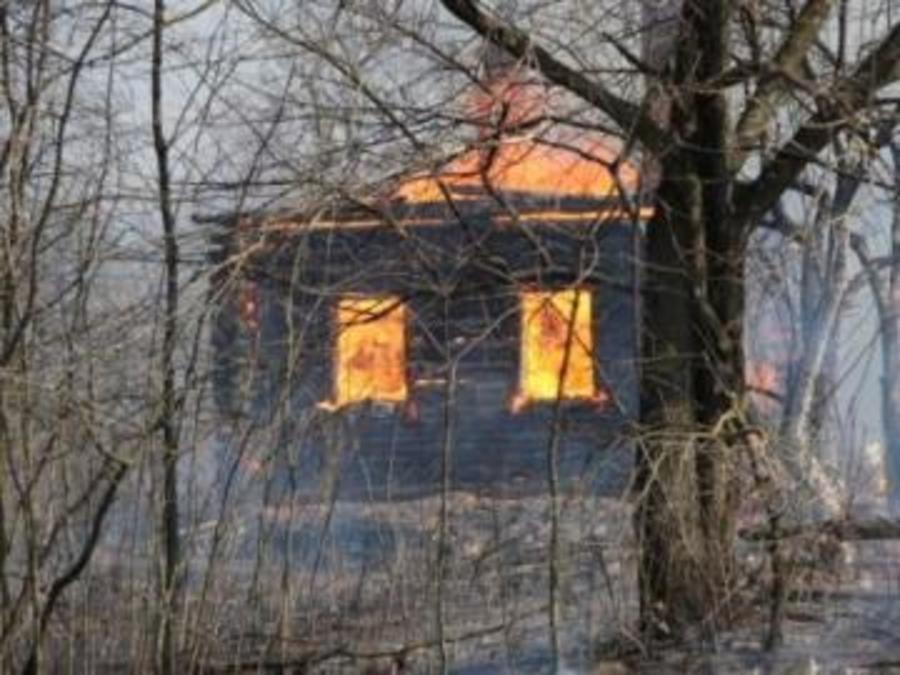 Вчера в Пермском крае сгорели два жилых дома