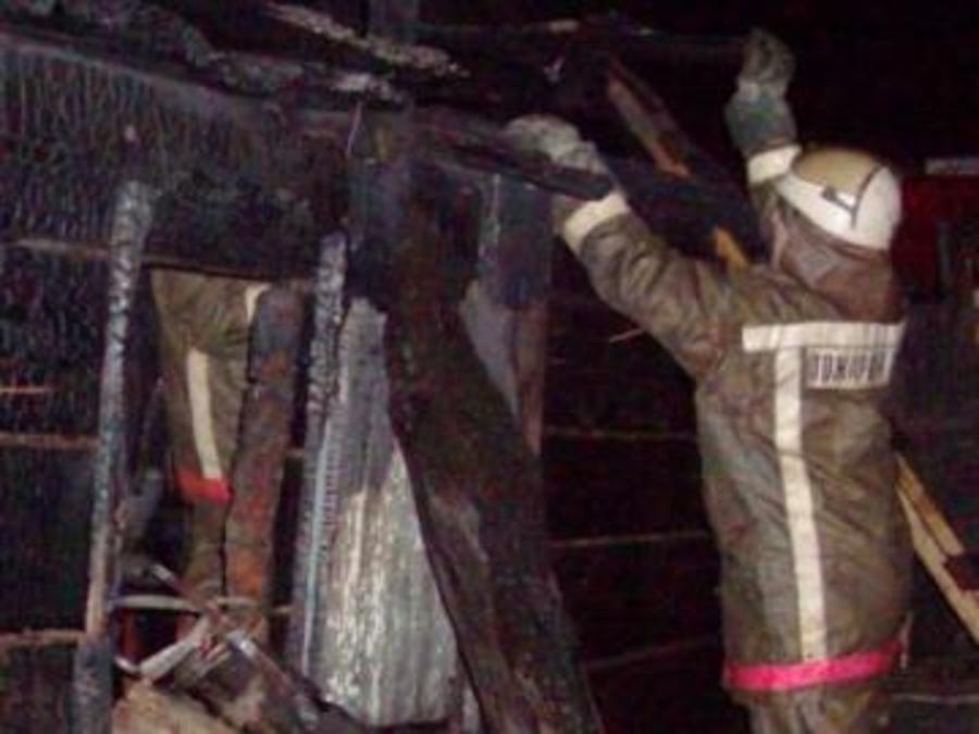 В Чайковском в бытовом вагончике сгорел человек