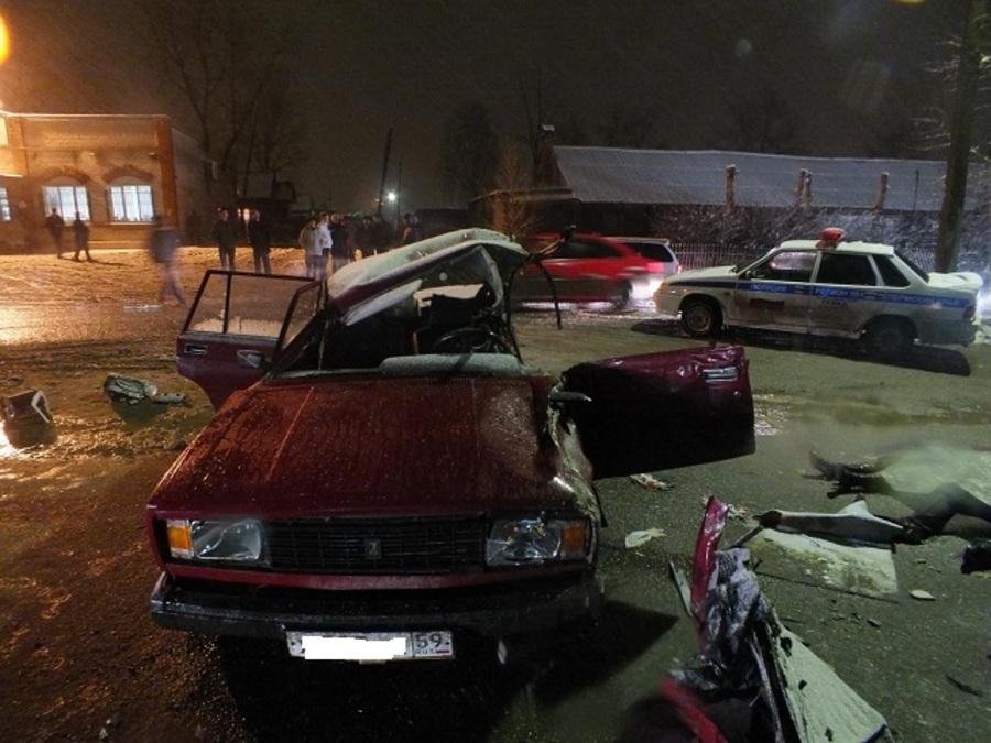 Водитель, виновный в крупном ДТП в Соликамске, был пьян - фото 1