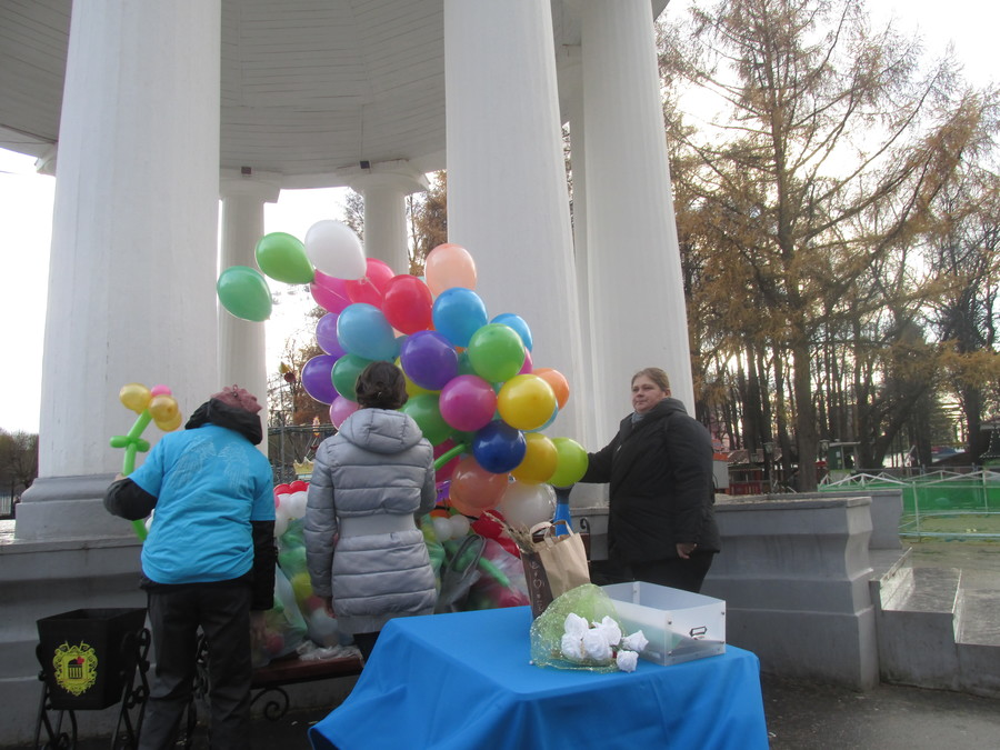 В Перми сегодня помогали больным детям - фото 1