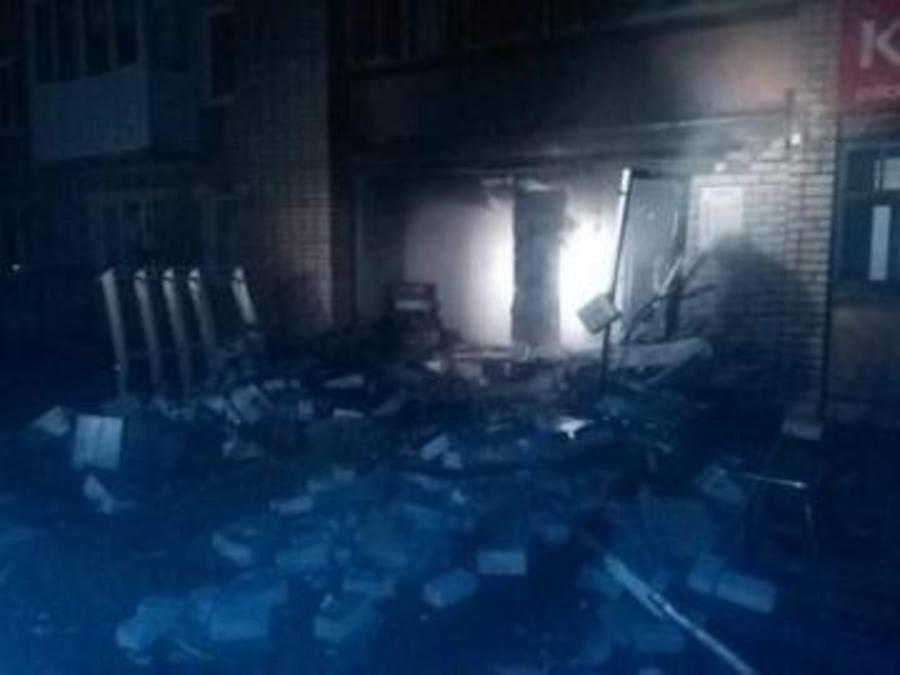 В Верещагино произошел взрыв в компьтерном магазине, 19 человек эвакуированы