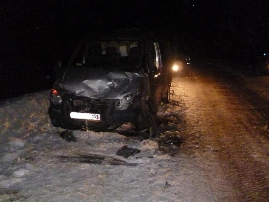 В Бардымском районе Киа столкнулась с Газелью, два человека погибли - фото 1