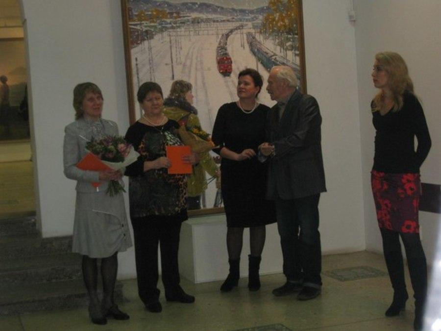 В Перми открыта выставка студентов-художников