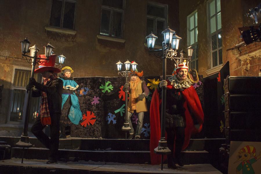 Пермский театр кукол устроил спектакль на задворках