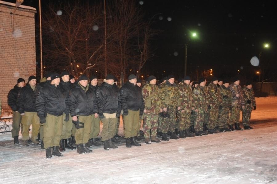 Сводный отряд пермского полицейского спецназа отправился в Дагестан