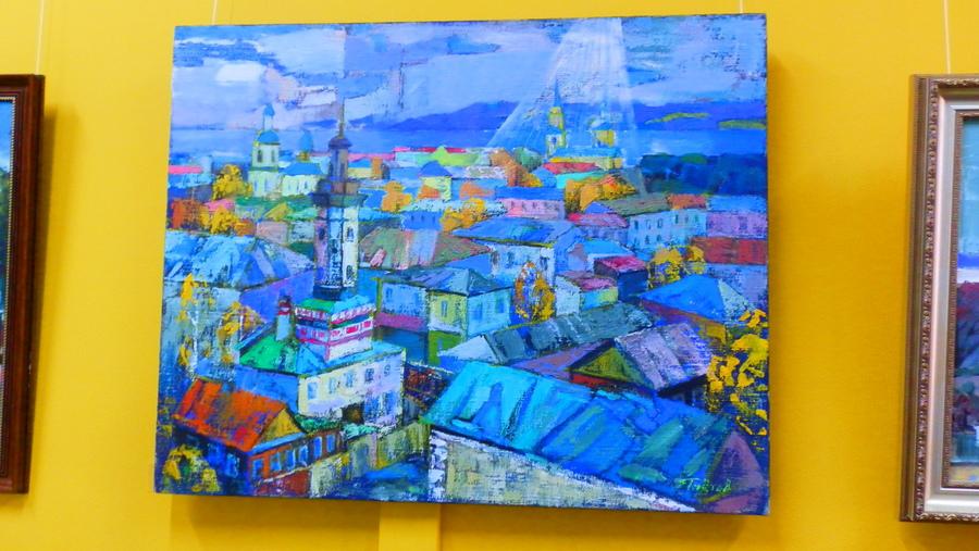 Александр Гнетов показал пейзажи старой Перми