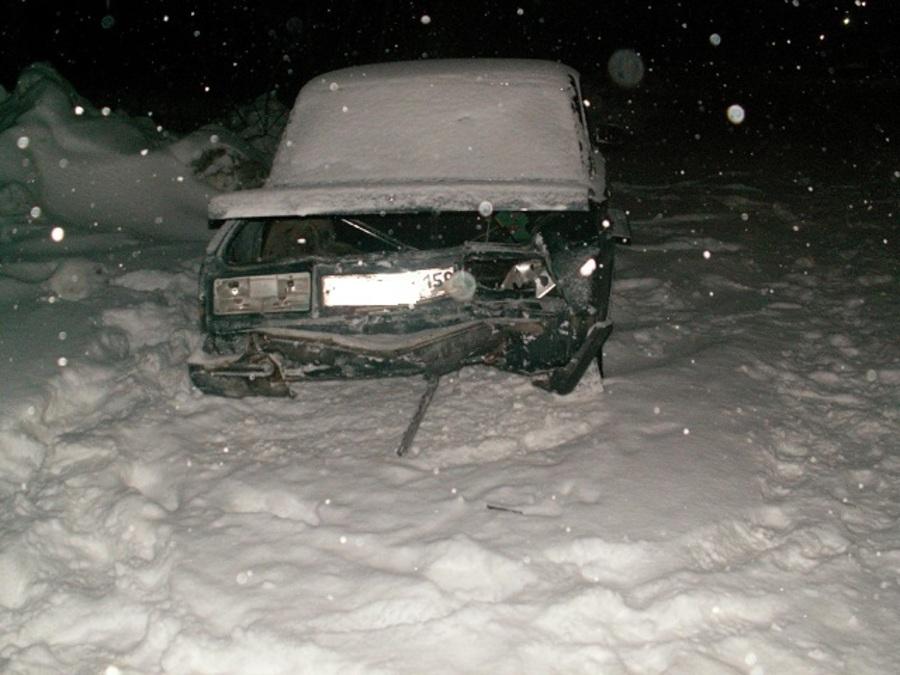 В Краснокамском районе ВАЗ раздавил сидящую на дороге женщину