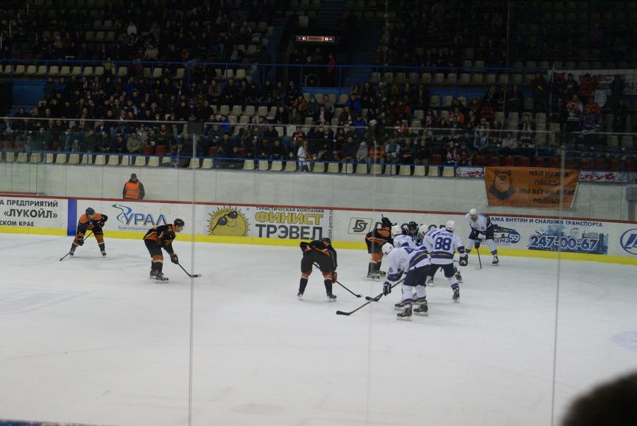 В Перми прошел первый матч высшей хоккейной лиги в этом году - фото 1