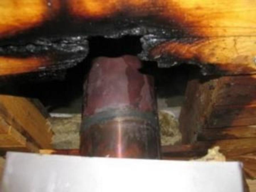 В Пермском районе сгорела неправильно обустроенная баня - фото 1