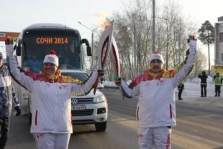 В Мотовилихинском районе Перми факел Олимпийского огня пронесла чемпионка мира - фото 1