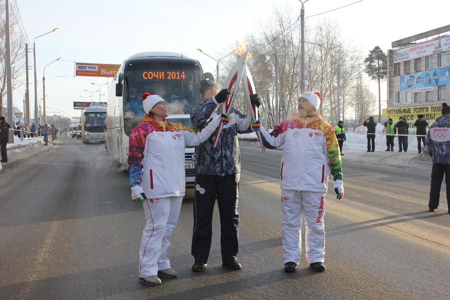 В Мотовилихинском районе Перми факел Олимпийского огня пронесла чемпионка мира - фото 2