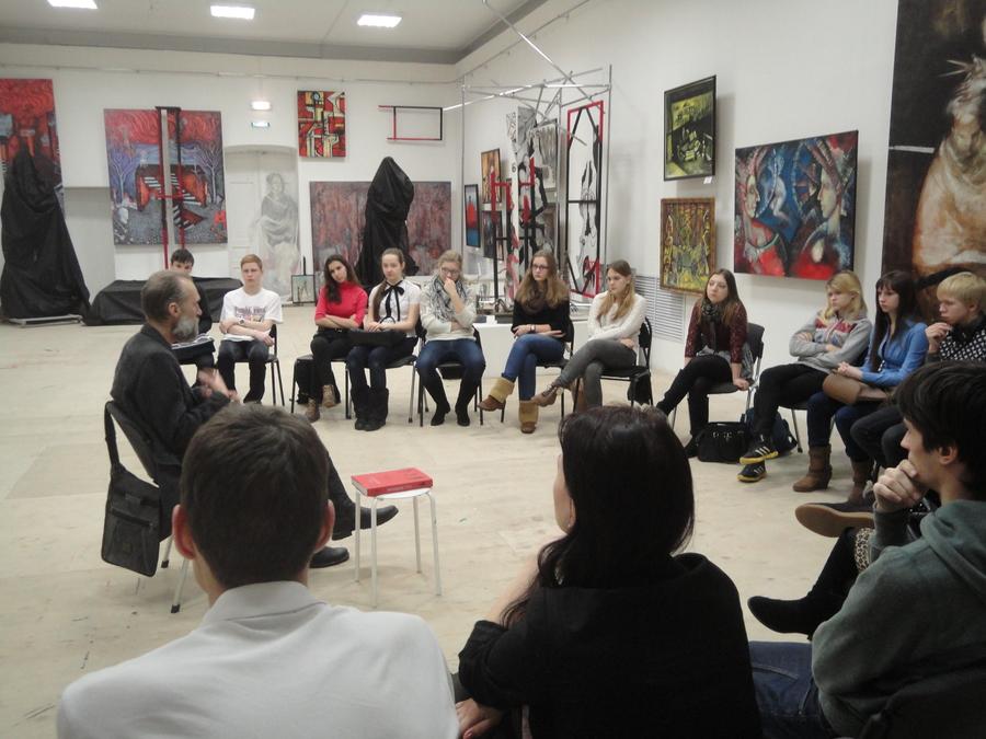 В Перми прошел мастер-класс театрального художника