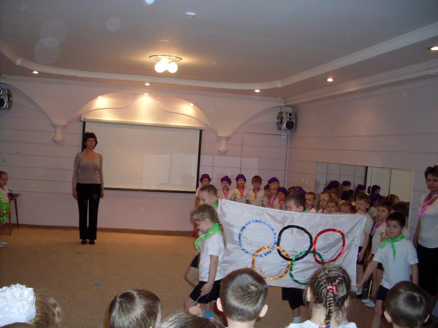 В детском садике №278 состоялось открытие Олимпийских игр