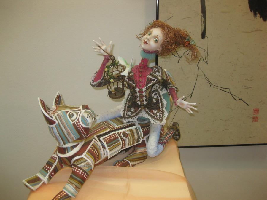 В Перми открылась выставка японских кукол