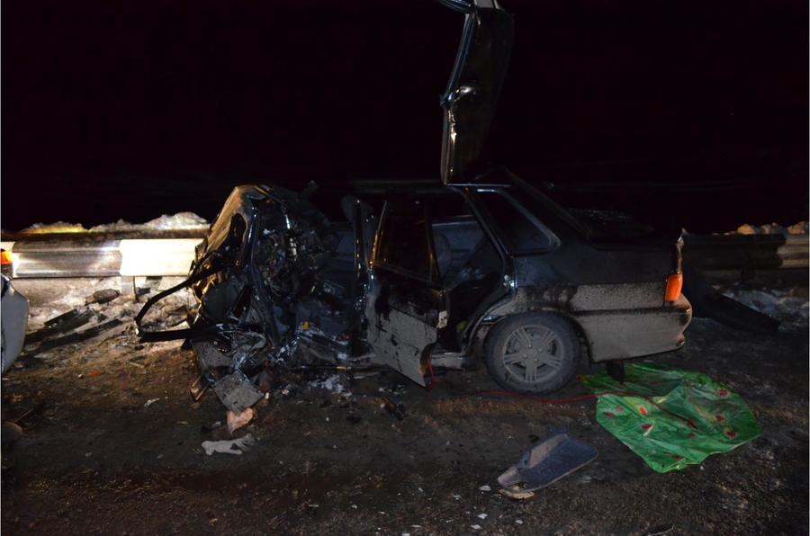 В Чернушинском районе в столкновении пострадали водитель Тойоты и ВАЗа