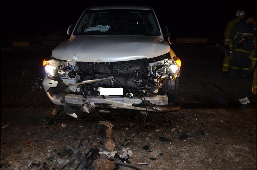 В Чернушинском районе в столкновении пострадали водитель Тойоты и ВАЗа - фото 2
