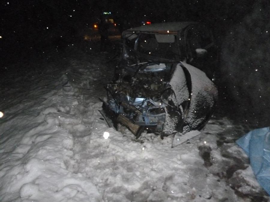 В Пермском районе в ДТП погиб водитель Матиза, двое травмированы - фото 1