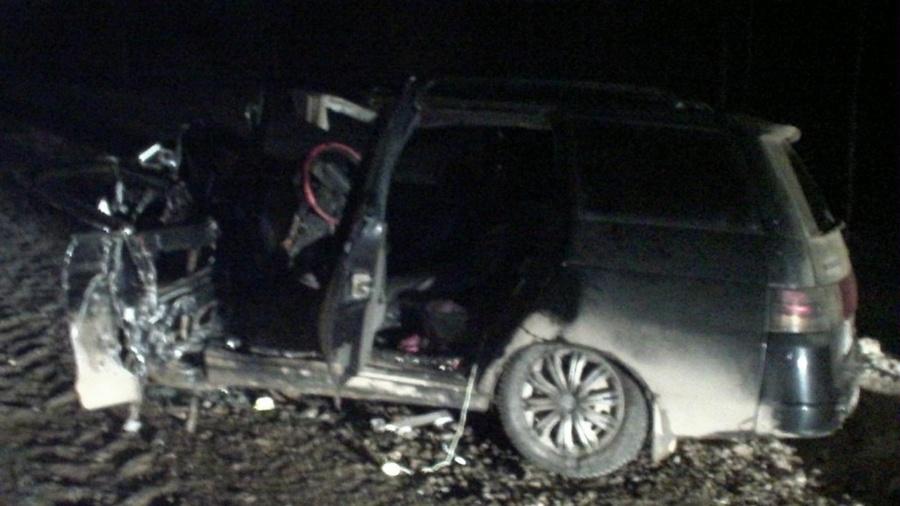 В Очерском районе погибли водители двух столкнувшихся автомобилей