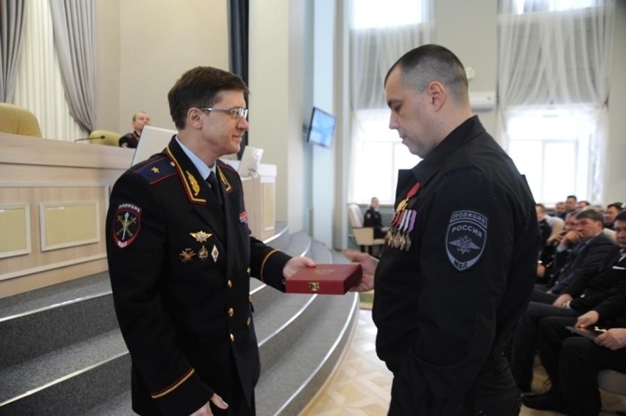 Пермский полицейский награжден орденом
