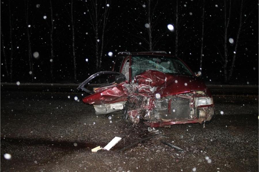 На трассе Кукуштан — Чайковский погибла женщина, пострадали трое взрослых и мальчик