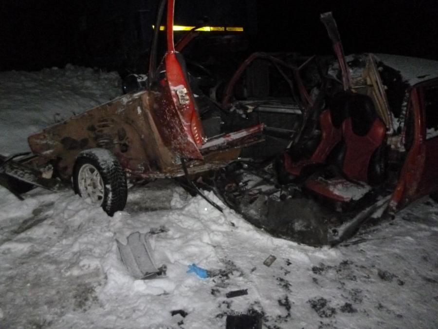 Два человека погибли на трассе Кукуштан - Чайковский