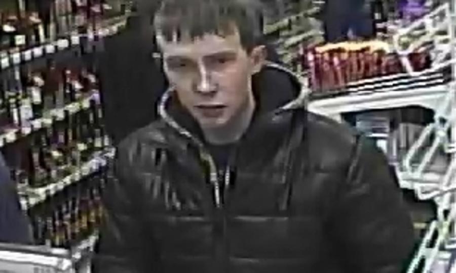 Полиция Кудымкара разыскивает магазинного вора