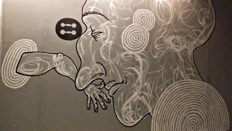 В Перми состоялось открытие выставки художников стрит-арта. - фото 1