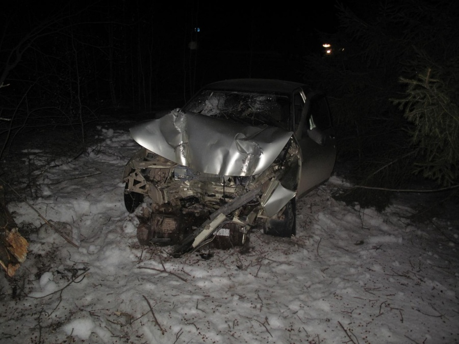 В Лысьвенском районе погибла водительница «десятки»