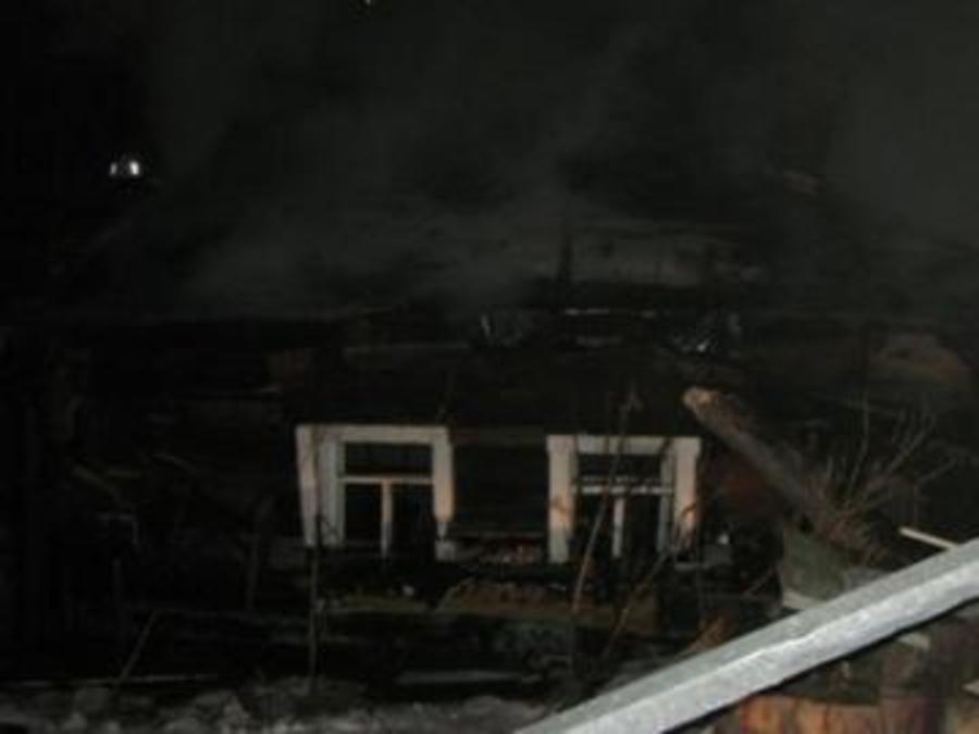 В Усолье на пожаре погибли два человека - фото 1