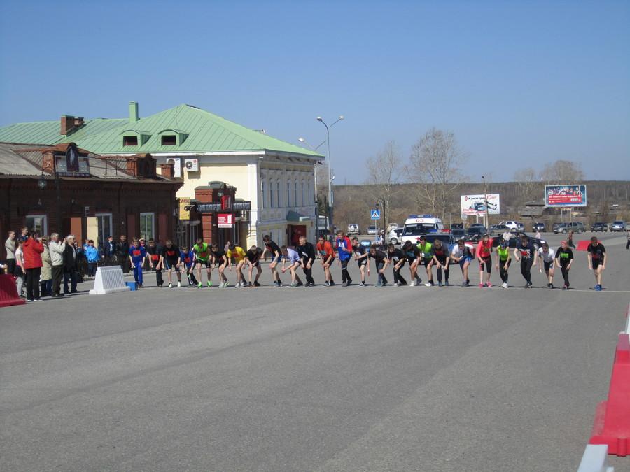 В Соликамске прошла городская эстафета