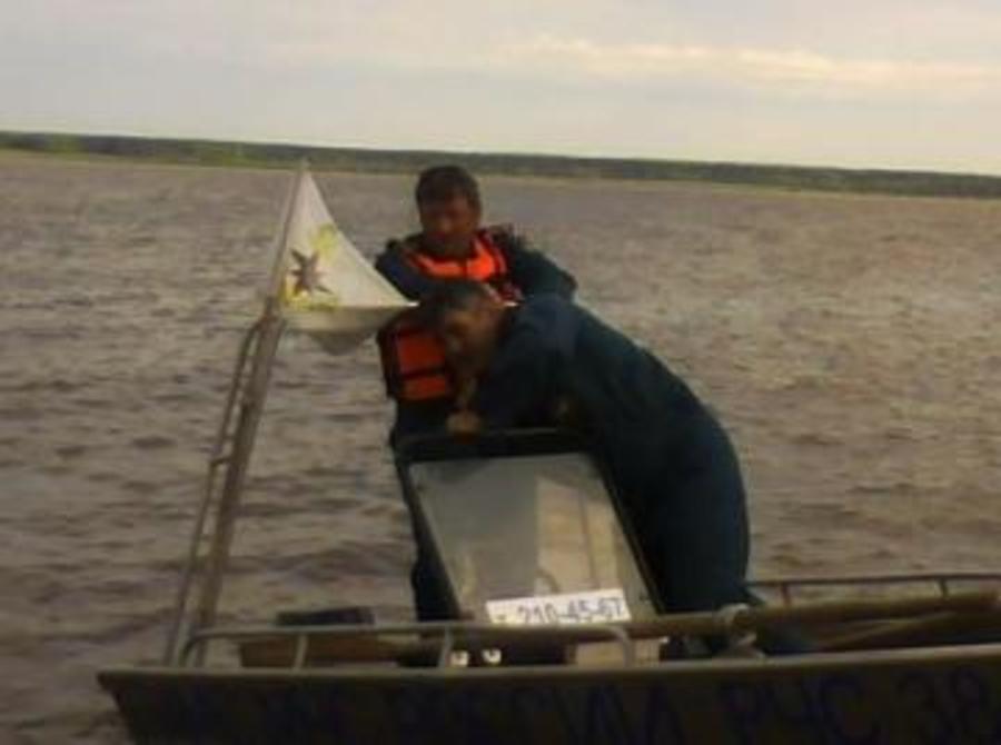 В Пермском крае инспекторы ГИМС спасли рыбака