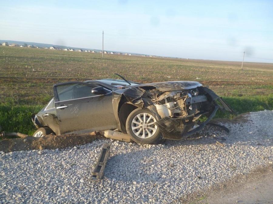 В Пермском районе в ДТП погиб пассажир Тойоты