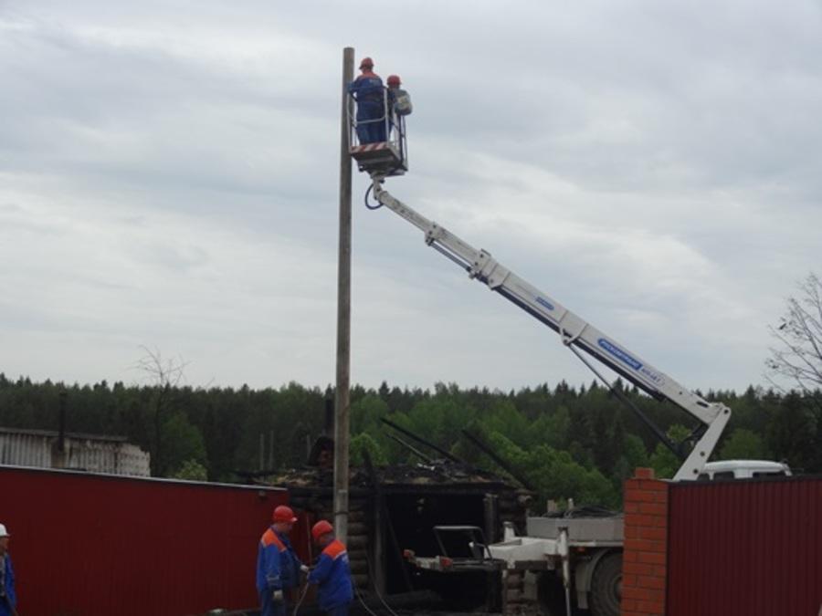 В Пермском районе восстановлено электроснабжение поселка Броды