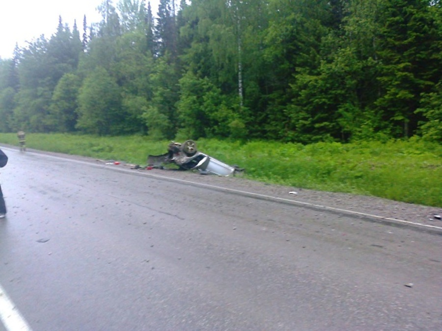 В ДТП на трассе Кунгур - Соликамск один человек погиб, двое ранены