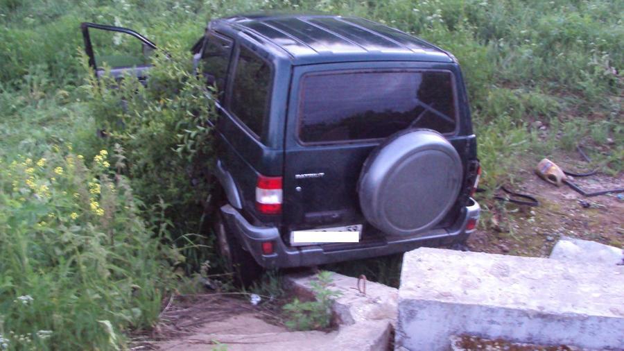 В Добрянском районе погиб водитель Патриота - фото 1