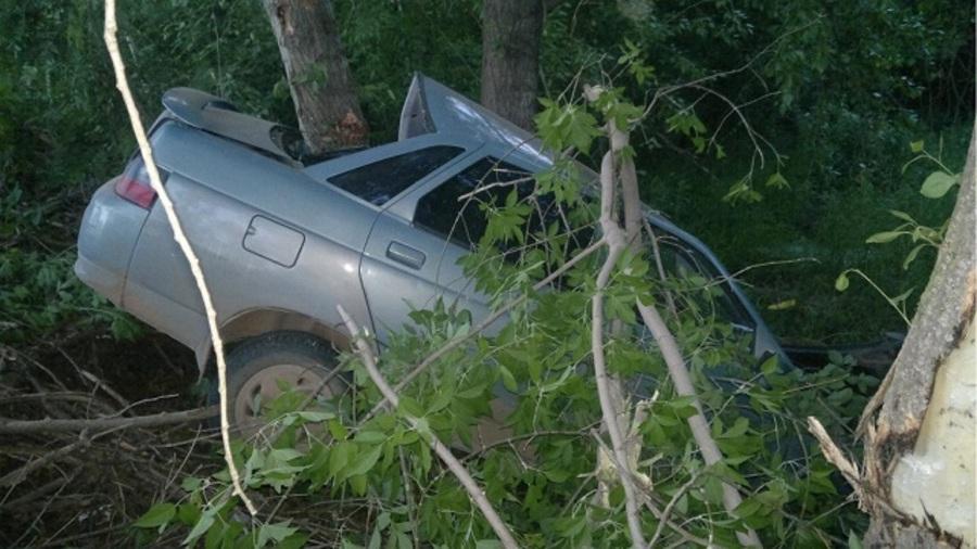 В Ильинском районе погиб водитель «десятки»