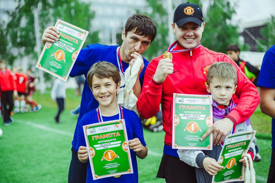 В Перми отцы и дети сражались на футбольном поле